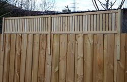 Fence Extensions Lattice Factory Privacy Fence Landscaping
