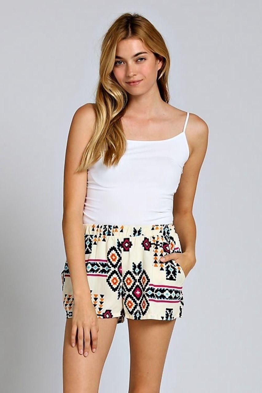 Arris Fashion - Aztec Sunset Shorts, $20.00 (http://www.arrisfashion.com/aztec-sunset-shorts/)