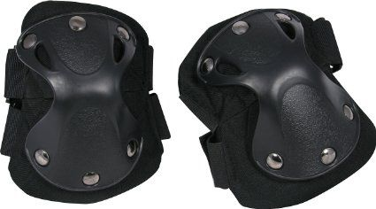 Viper Tactical Heavy Duty Hard X-Shell Knee Pads Army Airsoft Military Skirmish (Black)