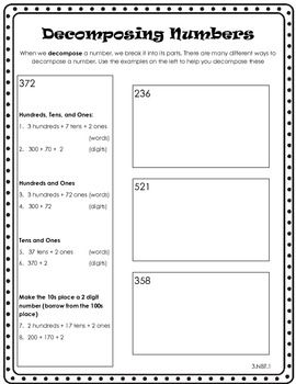 Decomposing Numbers | Digital Content Curation | Decomposing numbers ...
