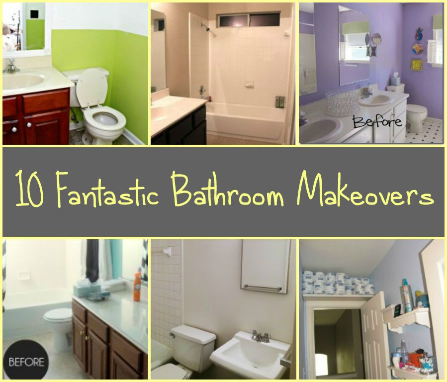 10 Fantastic Bathroom Makeovers Make Sure To Pull The