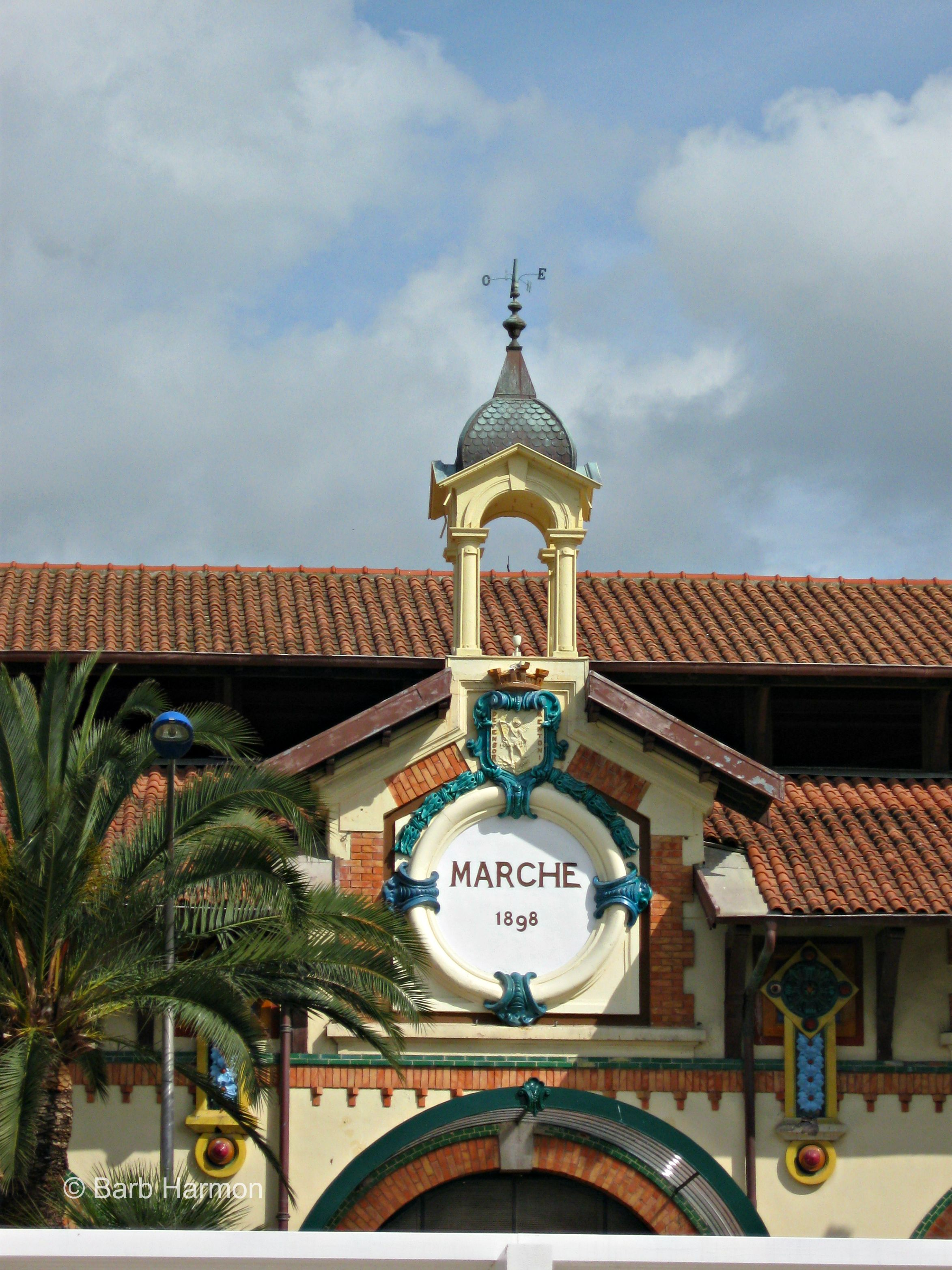The Marche in Menton France. The freshest fruit, vegetables, etc. #foodie #France #travel
