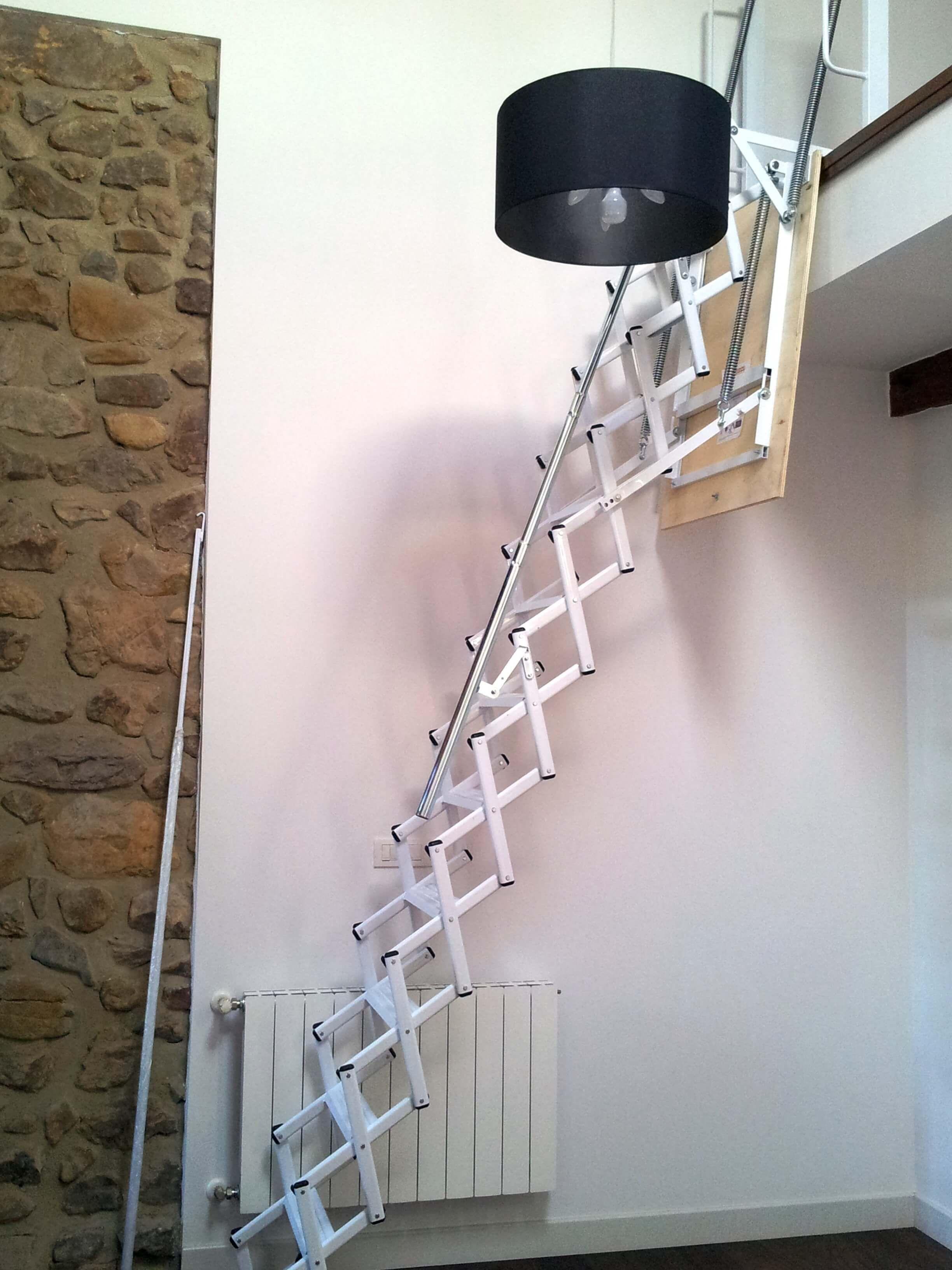 Escalera plegable para altillo escaleras plegables y - Escalera plegable altillo ...