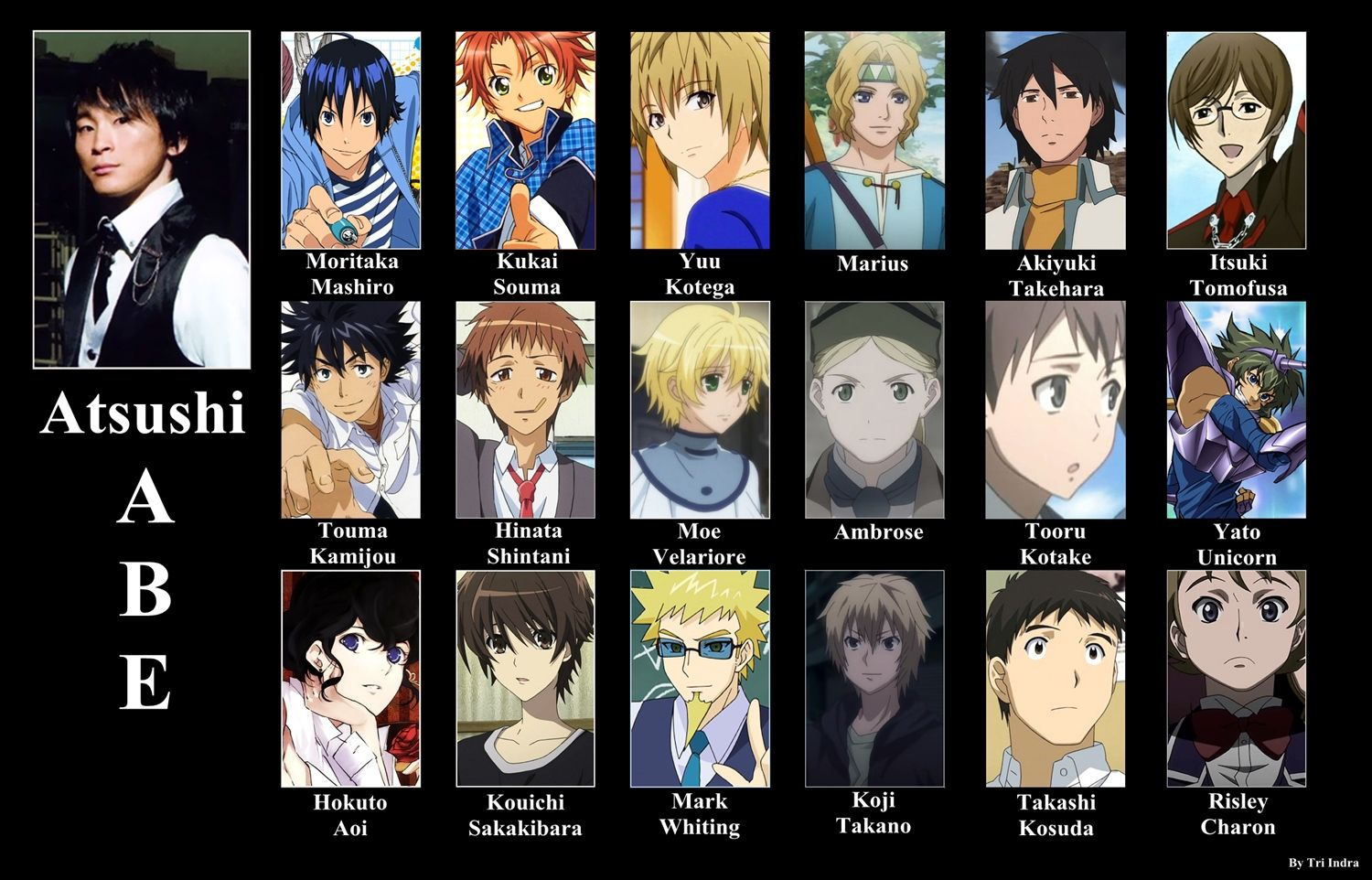 Pin on Voices of animes