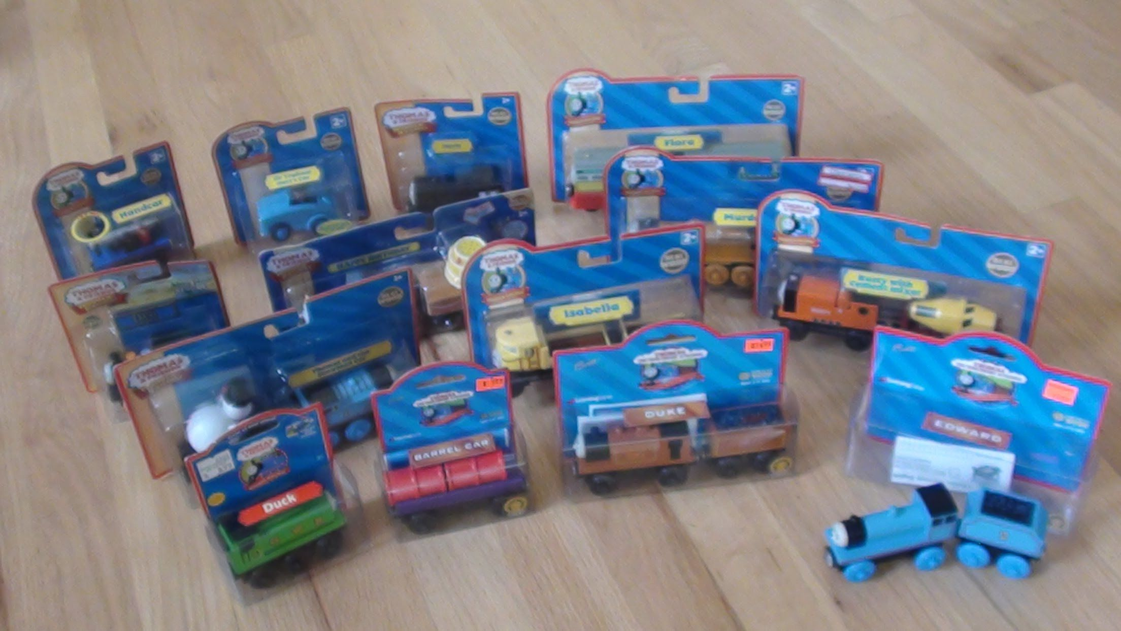Woodenrailwaystudios Thomas Wooden Railway Collection New In Box