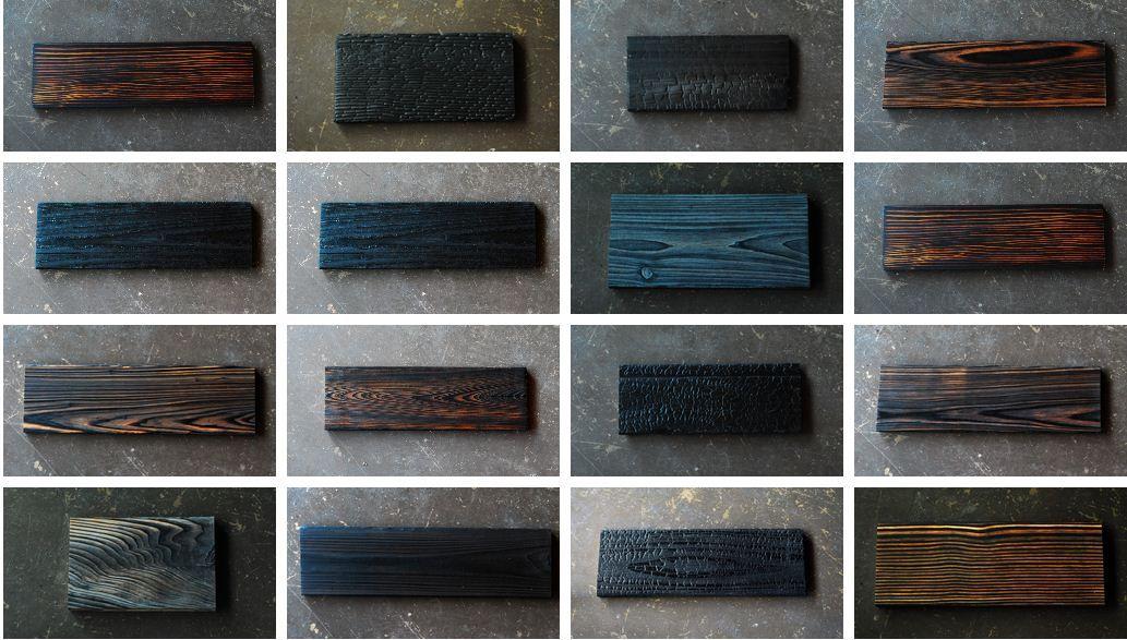 la technique shou sugi ban la beaut du bois br l bois brul bois et bardage bois. Black Bedroom Furniture Sets. Home Design Ideas