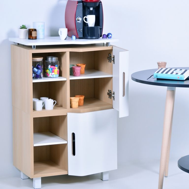 Meuble Espace Cafe En Bois D Entreprise Fabrique En France En 2020 Comment Fabriquer Des Meubles Decoration Bureau Meuble