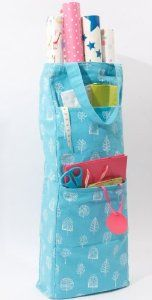 Gift Wrap Storage Bag Keep Your Wrapping Paper Organised I Wonder If I Could Sew One Wrapping Paper Storage Gift Wrap Storage Wrapping Paper Organization