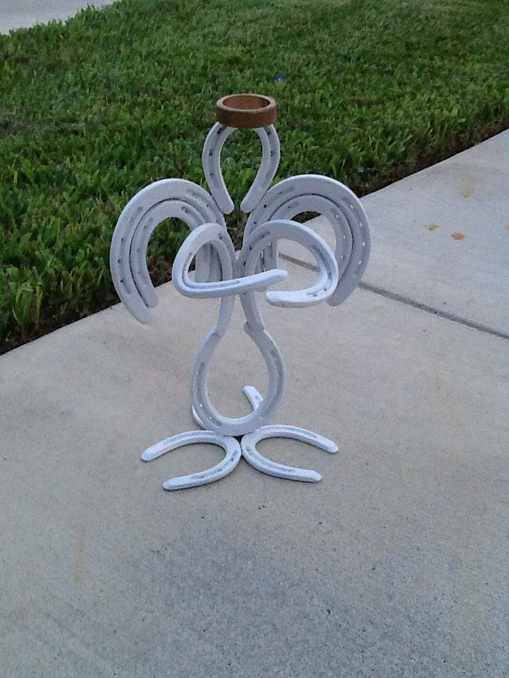 Horseshoe Angel Welding Projects Diy Welding Welding Crafts
