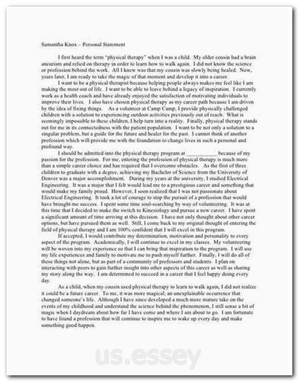how to write a grad school essay
