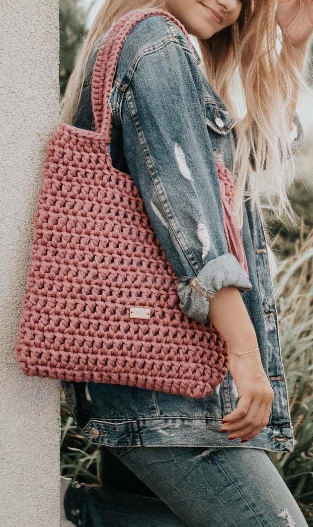 30+ Best And Creative Crochet Bag Patterns 2019 - Page 23 of 39
