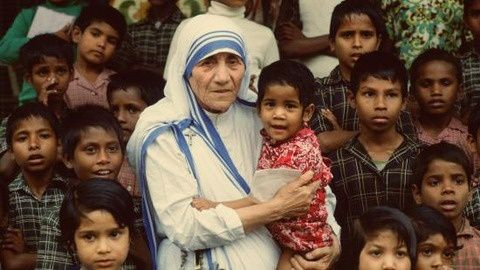 mother teresa childhood pictures