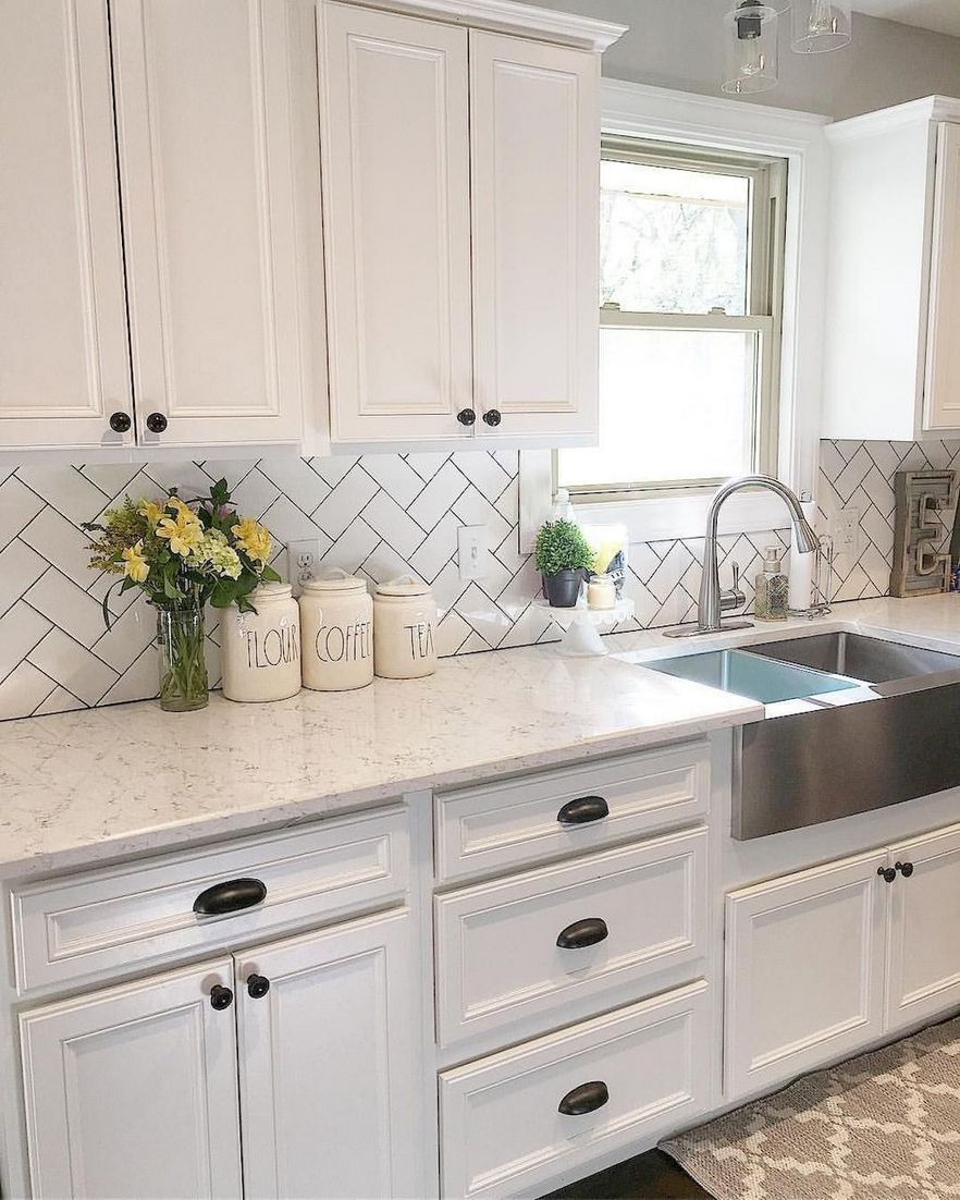 89 Of The Most Popular Choices Of Farmhouse White Kitchen