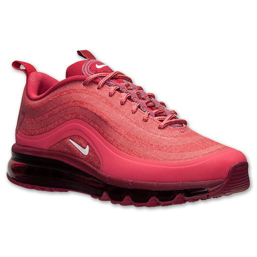 new product 527eb a9808 Men s Nike Air Max 97 2013 Hyp Running Shoes   Finish Line   Terra  Red White Deep Cardinal