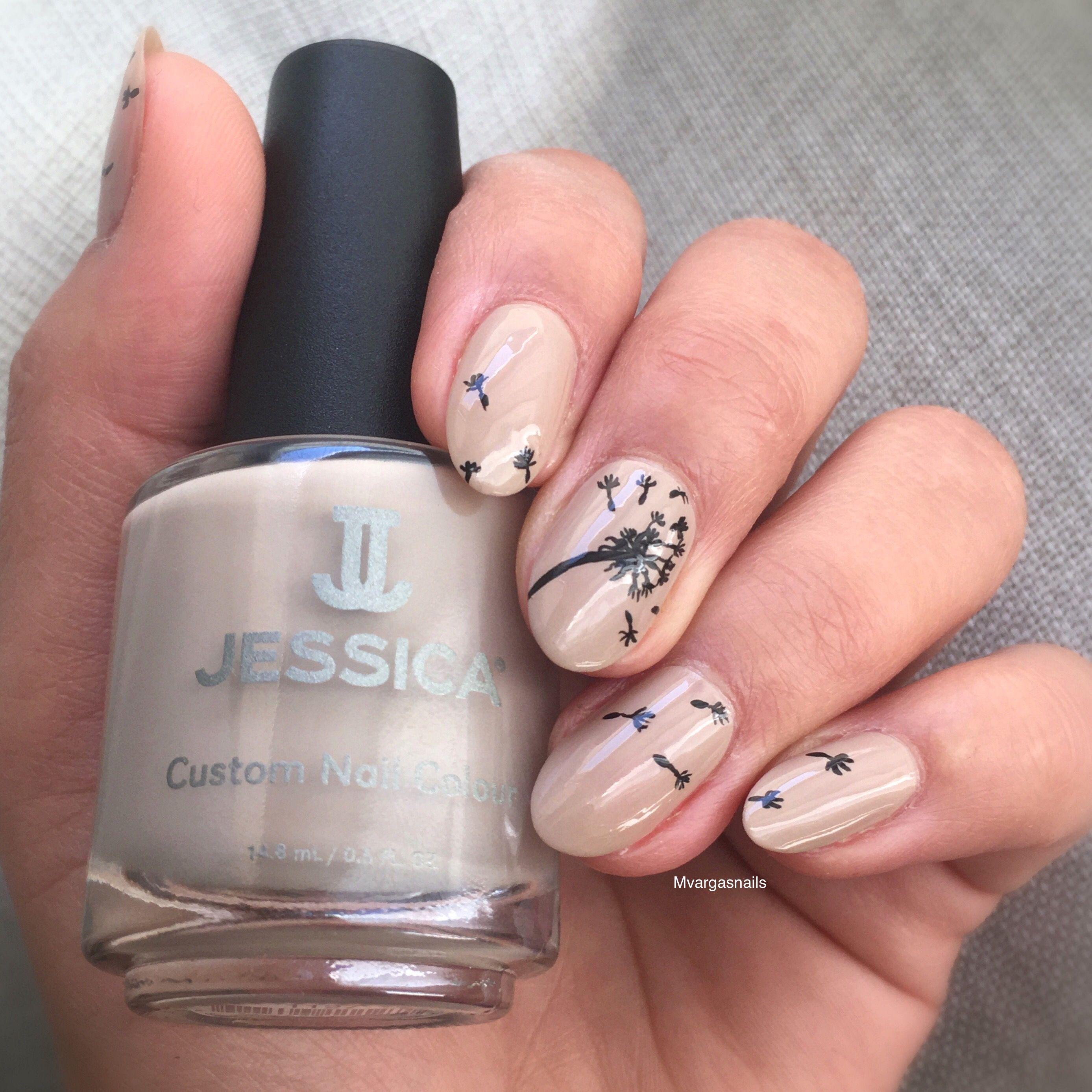 Dandelions nails @jessicacosmetics naked contours | My nail art ( IG ...