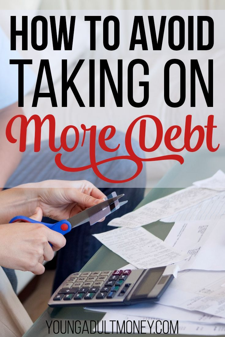 How to Avoid Taking on More Debt Credit card debt relief