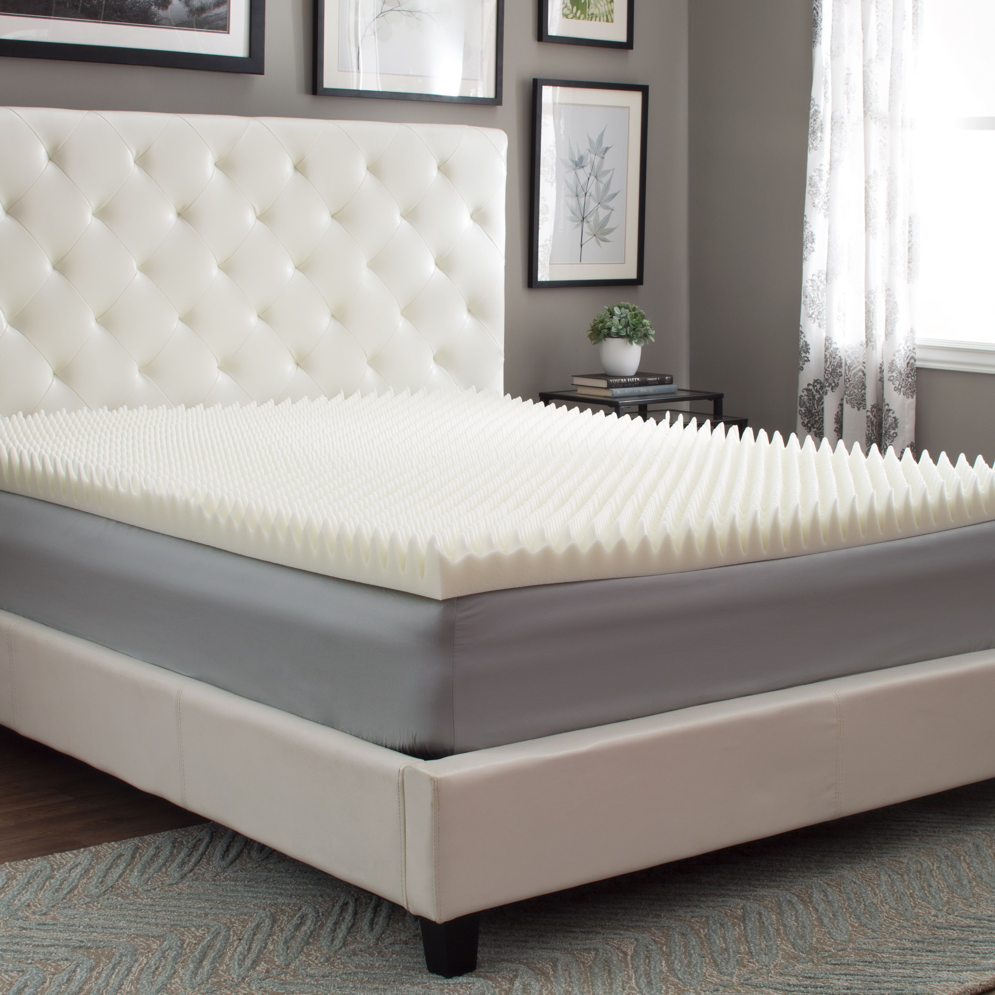 here s a slumber solutions highloft supreme 4 inch memory foam