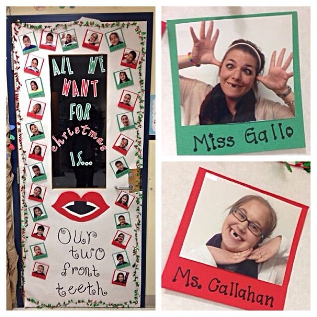 Door Decorating Contest At School Blacked Out Our Teeth
