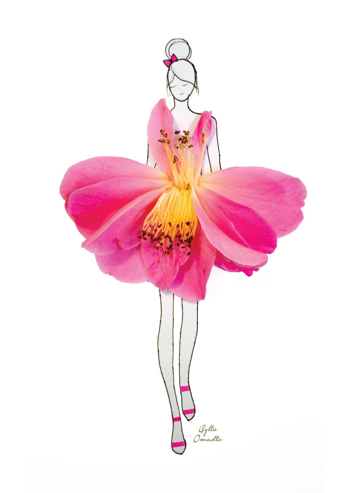 цветочные балерины картинки можете