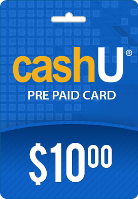 CashU PrePaid Card- $10 CashU is much safer way to make payments ...