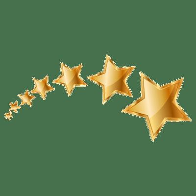 Series Of Stars Seni Desain Banner Bintang