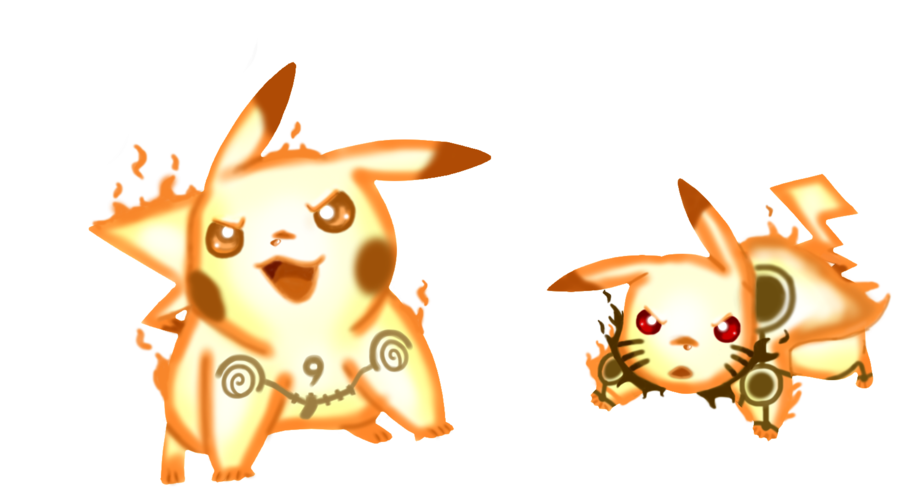 pikachu rikudou sennin mode by xandreita93x fanart cosplay