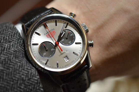 Jack Heuer 80th Carerra   Cool watches, Tag heuer carrera