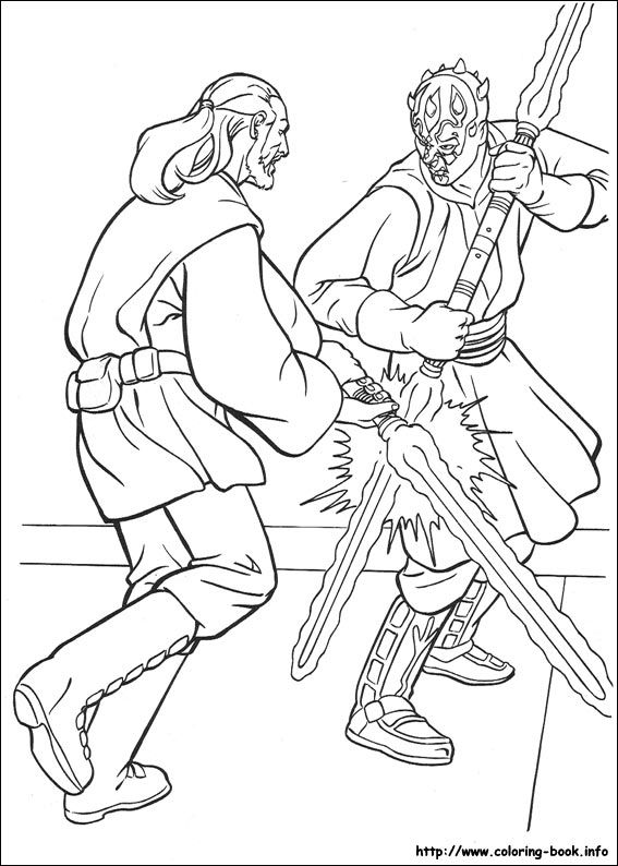 Star Wars coloring picture Color me pretty - Star Wars Pinterest - best of star wars coloring pages the force awakens