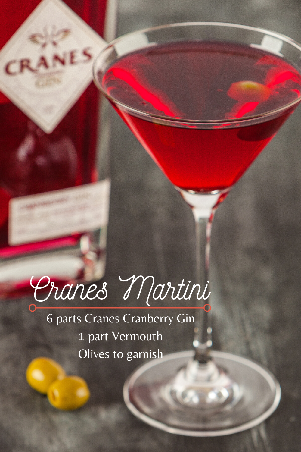 A Martini is probably the most famous and traditional cocktail, however we have put a twist on the classic using Cranes Cranberry Gin! Cranes award-winning, premium Cranberry Gin is smooth and fruity, yet delightfully sharp. It's a must-try for any gin-enthusiast. We like ours shaken, not stirred, what about you? Buy a bottle now on Amazon or Ocado. . . . . . . . . . . #gin #martini #cranes #cranberry #cocktail #vermouth #drink #spirit #cambridge #classic #alcohol #recipe #Amazon #Ocado #olives
