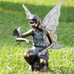 Grace Garden Fairy Sculpture Stands 25 High Fairy Statues Garden Statues Fairy Garden