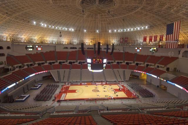 University Of Louisiana At Lafayette Basketball Is Life Sports Arena Seating Charts