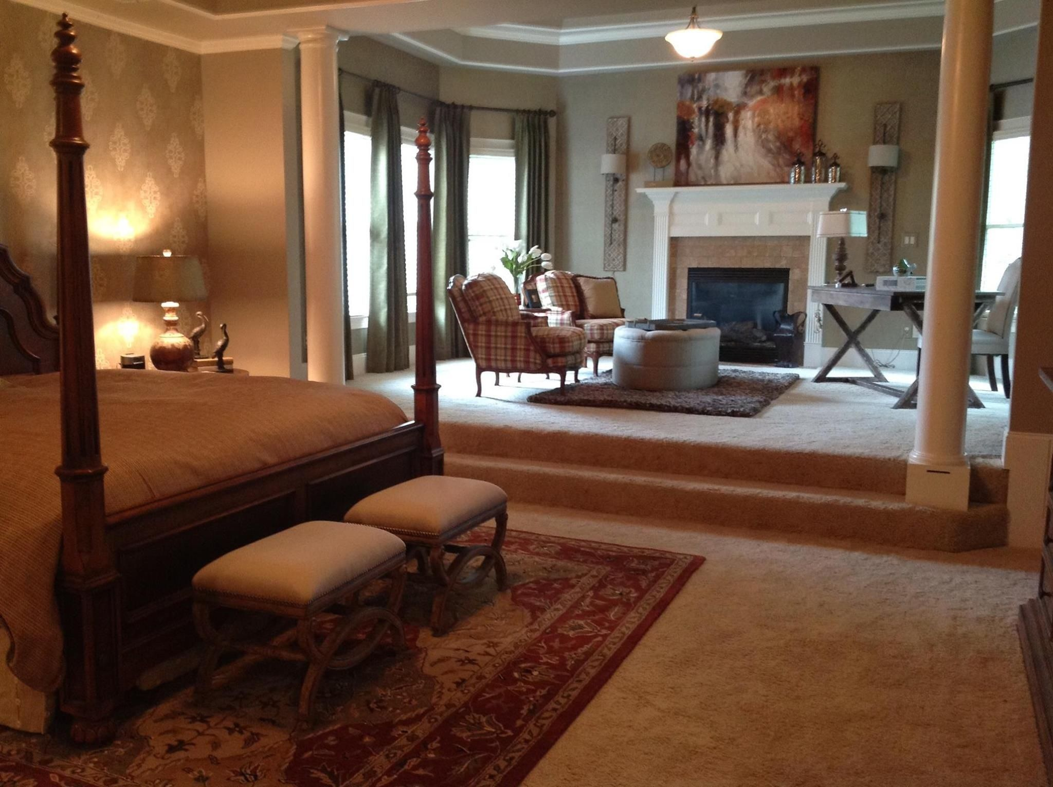 Beautiful Master Bedroom My Home One Day Pinterest