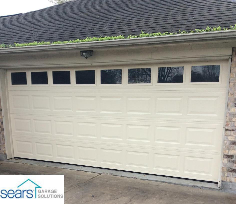 16x7 Stratford With Windows Garage Door Design Garage Doors Broken Garage Door
