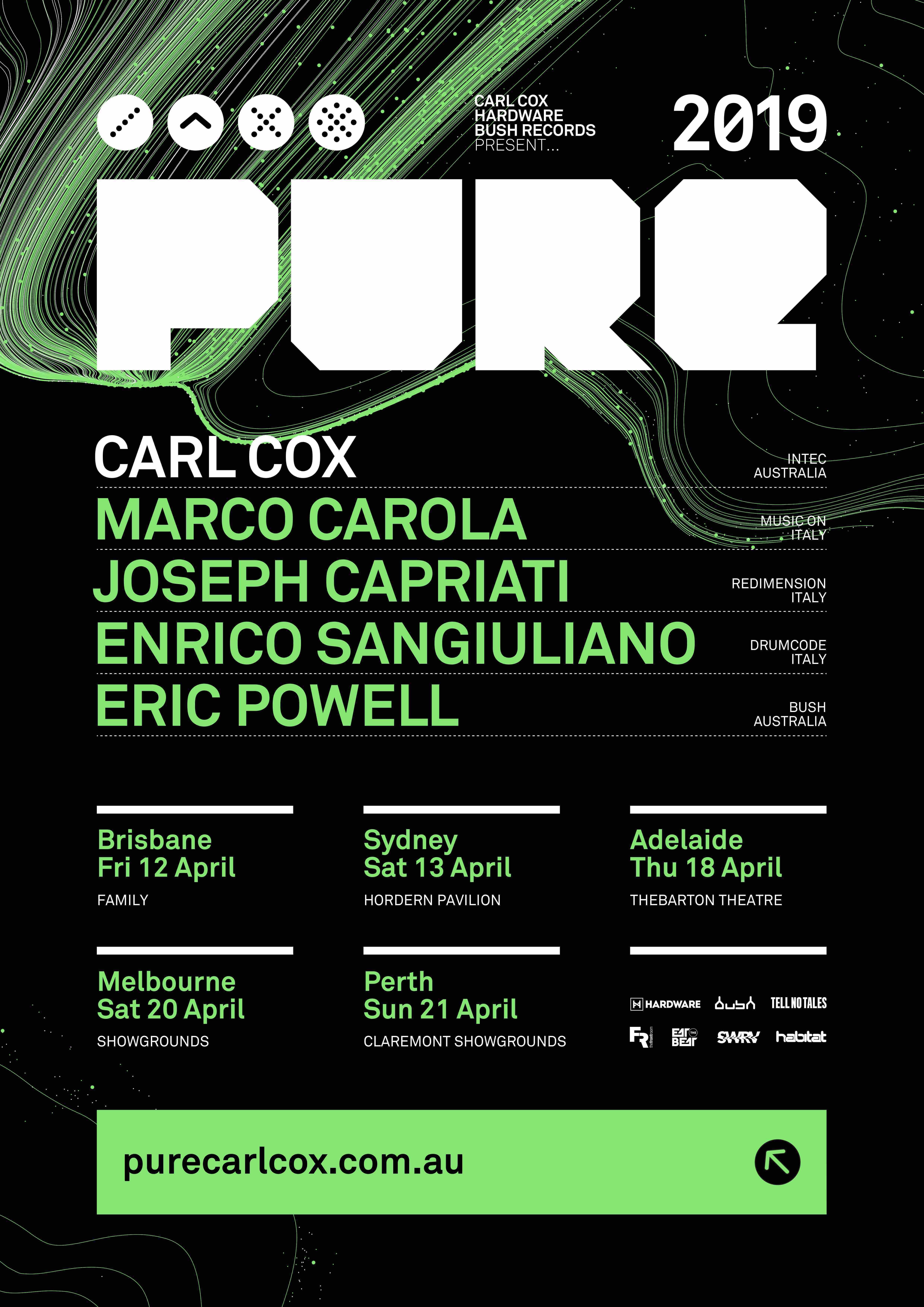 PURE Festival Austraila announced... One of Australia's
