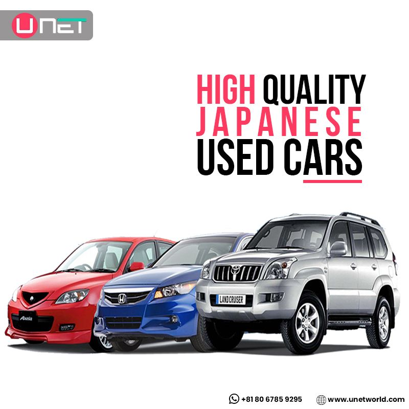 Do you want to buy the finest quality Japanese used cars at an affordable price? #Unet is a leading exporter of second-hand cars in Tokyo. We offer branded and classic cars, which are quality checked and approved by automobile experts. Customer trust and satisfaction are most important for us, and we are currently providing services in Japan, Asia, Europe, & South America. Get in touch with us right now to buy your dream car.  WhatsApp +81 80 6785 9295  #japanesecar #JapaneseUsedCars #StockAlert