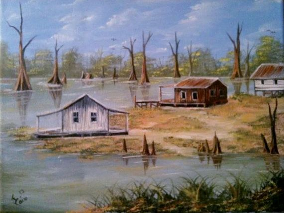 Camps on the Bayou in Manchac by JosLagniappe on