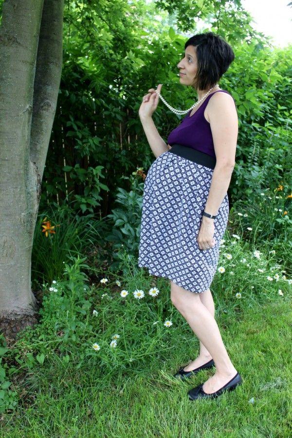 Maternity dress tutorial
