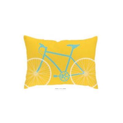 Checkerboard Bicycle Outdoor Lumbar Pillow Reviews Wayfair