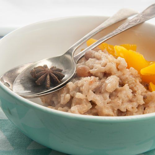 Chai Spiced Slow Cooker Rice Pudding | Slow cooker rice ...