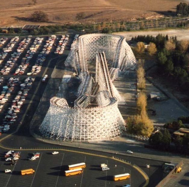 Colossus - Six Flags Magic Mountain (Valencia, California