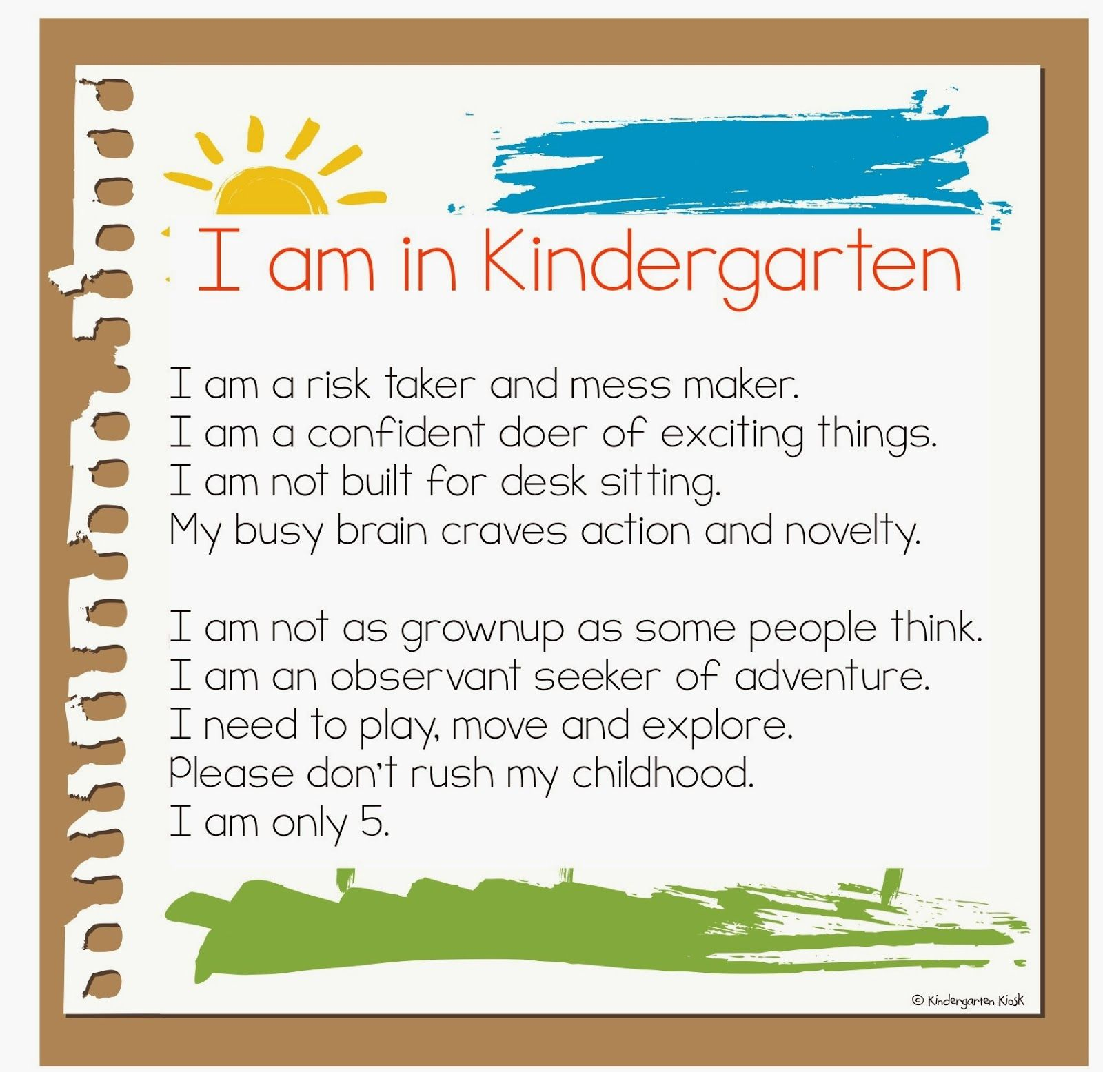 "Preschool Quotes For Teachers: ""Learning Through Play In K!"" Let's Return To The Roots Of"