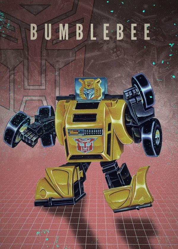 "Transformers Autobots Bumblebee #Displate explore Pinterest""> #Displate artwork by artist ""Rykker o7"". Part of… 
