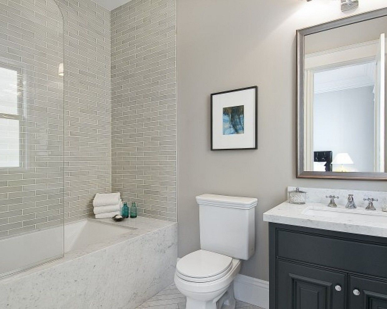 Bathroom Gorgeous White And Gray Bathroom Ideas Elegant In