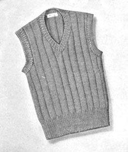 4675bd8786bf9 Boy s Sleeveless Sweater Pattern