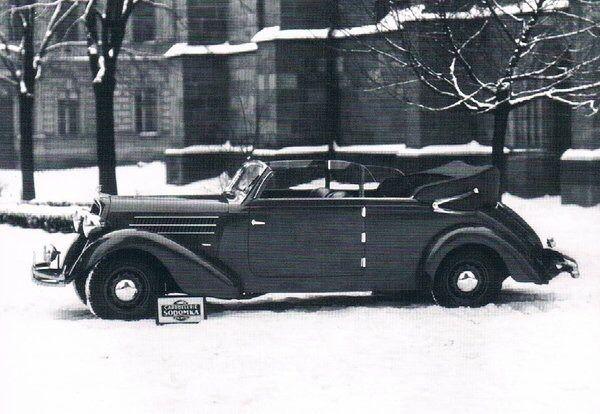 Sodomka Created This Skoda Superb 640 Cabriolet In Czechoslovakia