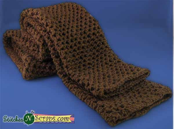 Free Pattern - Mesh Tube Scarf | Scarves, Father and Tube scarf