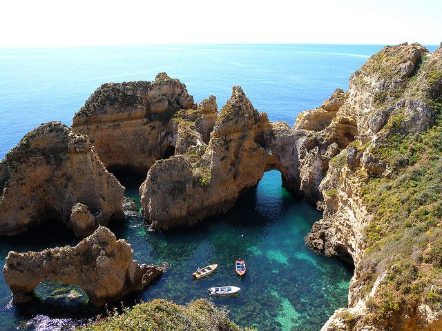 Una costa accidentada al estilo de Portugal (Lagos) - Viajes - 101lugaresincreibles - Viajes – 101lugaresincreibles -