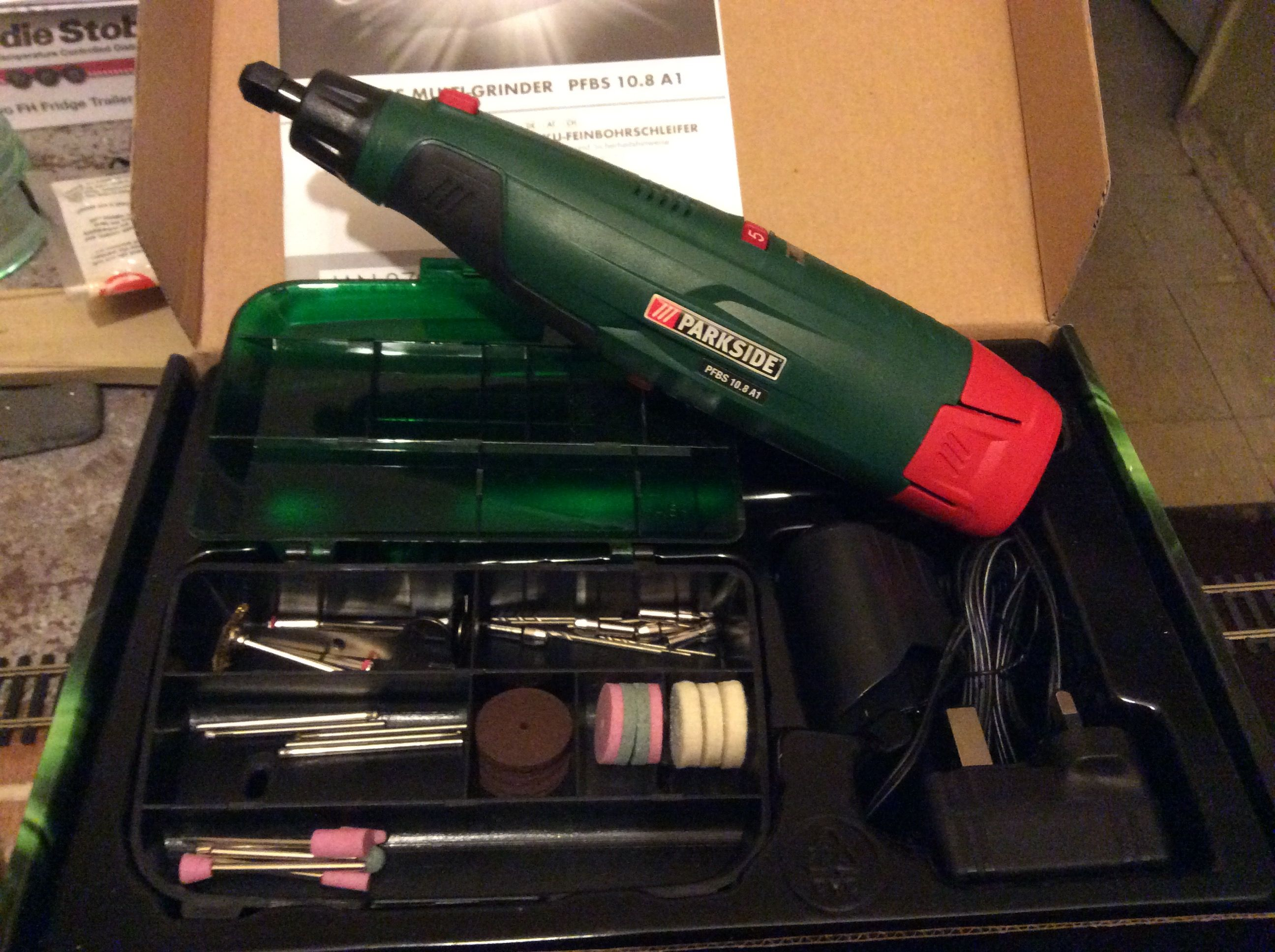 Parkside Cordless Drill Spare Battery  Great Parkside