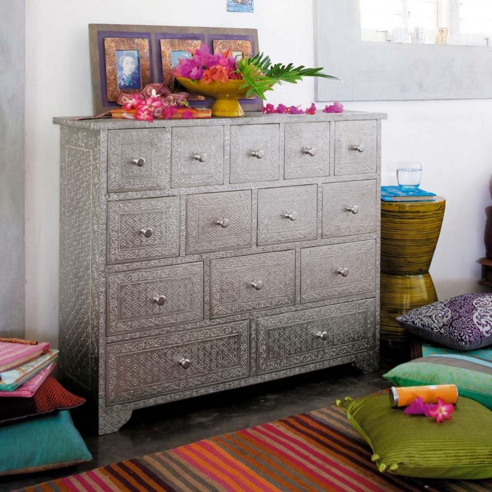 Cabinet indien Jaïpur | Maisons du Monde | Deco touch | Pinterest