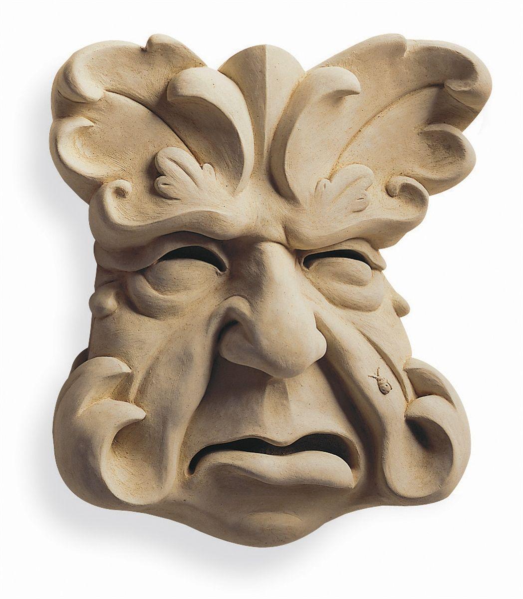 Garden plaque by carruth studio jewelry keramik skulpturen garten ideen - Gartenskulpturen selbstgemacht ...